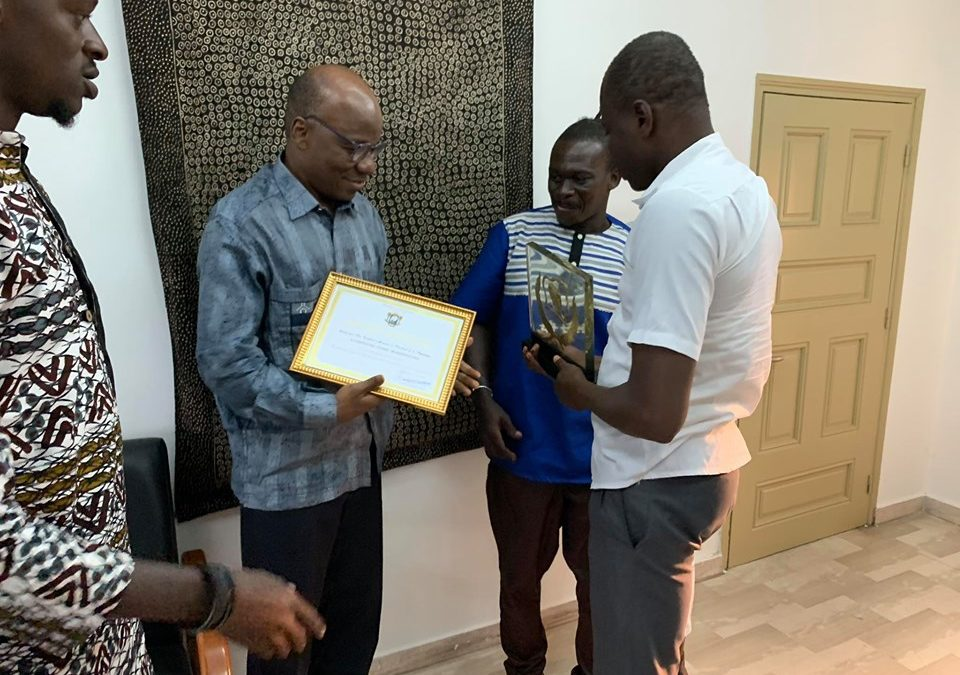 Prix National d'Excellence 2019 des Arts vivants