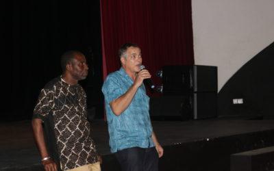 La scène de l'Institut Français d'Abidjan accueille La Boule Bleue