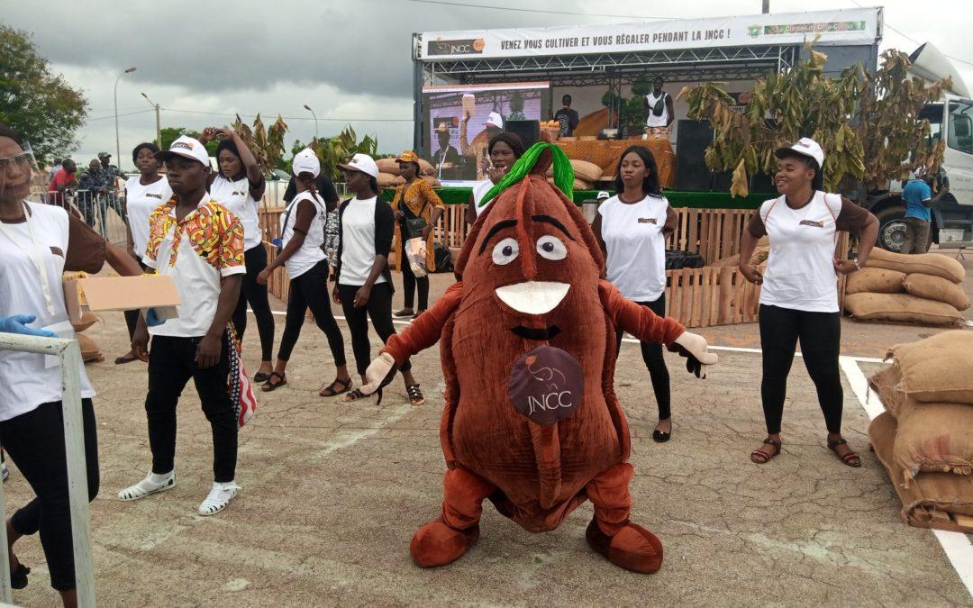 Une Mascotte pour un cacao durable et encourager l'agroforesterie